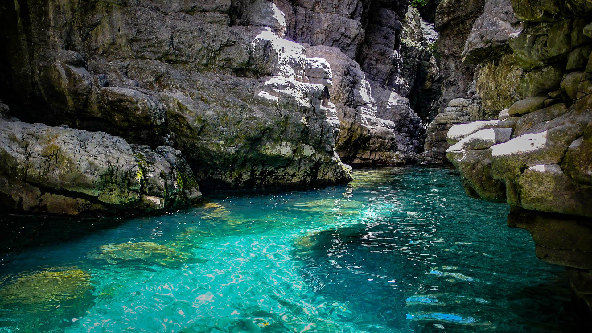 Canyon Miraval, Pyrénées espagnoles