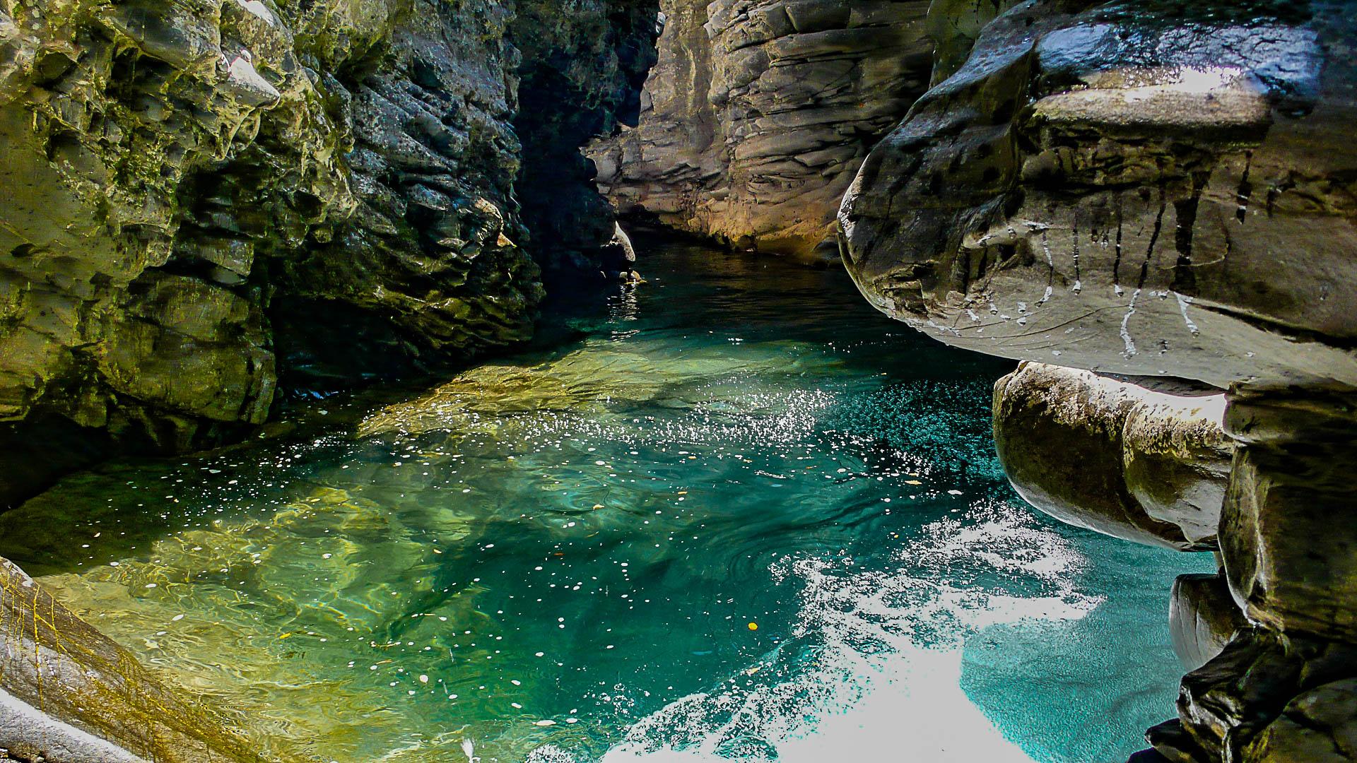 Un exemple de canyon dans les Pyrénées : Miraval