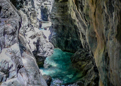 Autre vue des gorges du canyon de Miraval