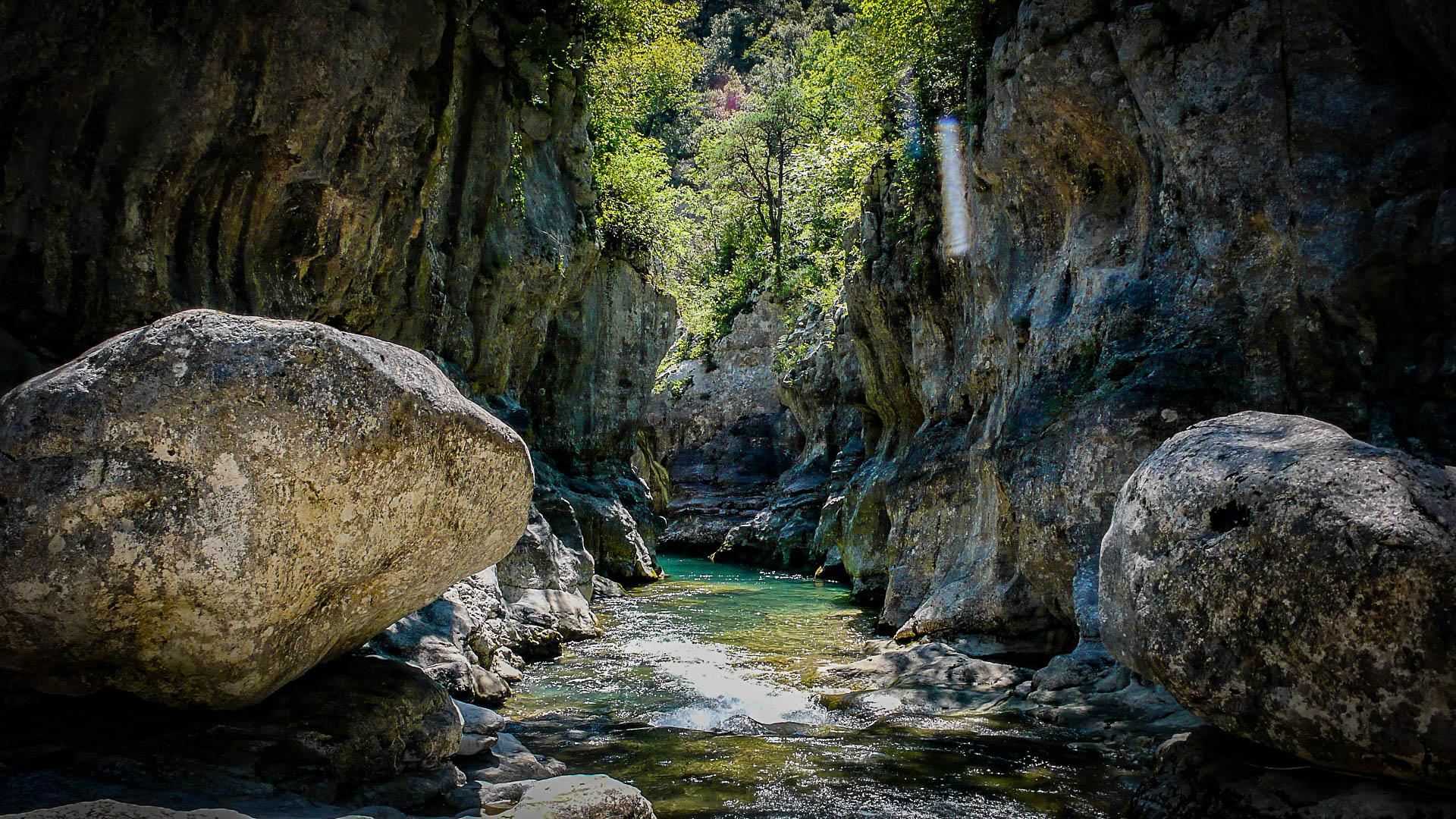Le haut-lieu du canyoning dans les Pyrénées : Canyon de Miraval