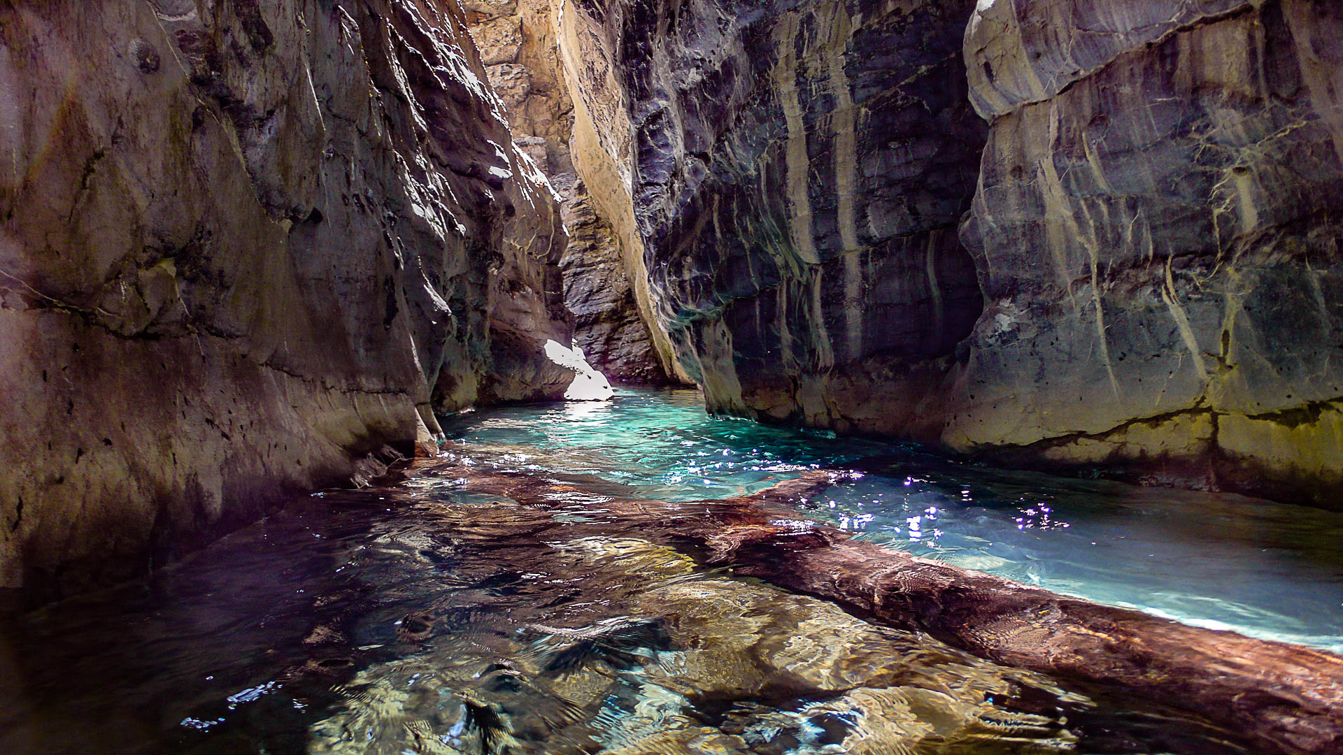 Canyoning dans les Pyrénées dans l'un des meilleurs canyon de Sierra de Guara
